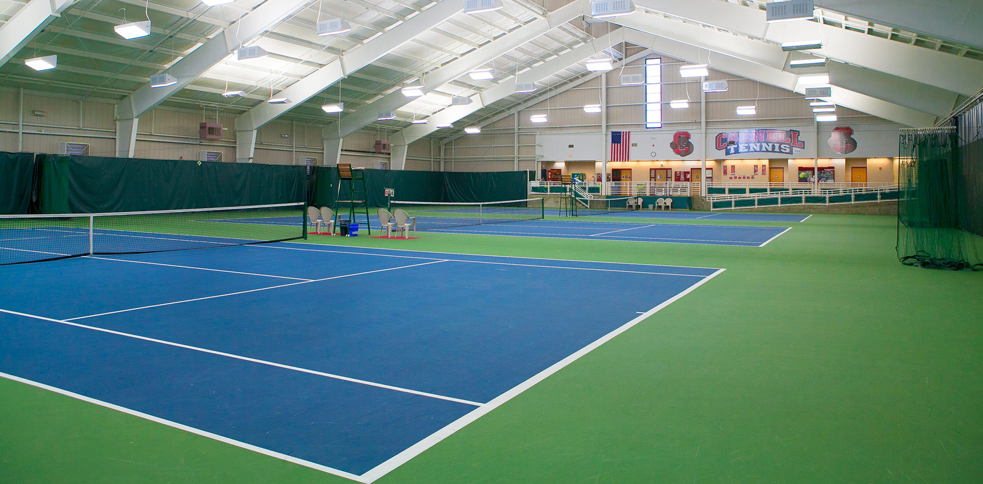Reis Tennis Center Interior View